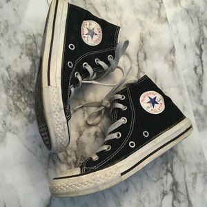 Kids converse all star lace up sneakers navy blue